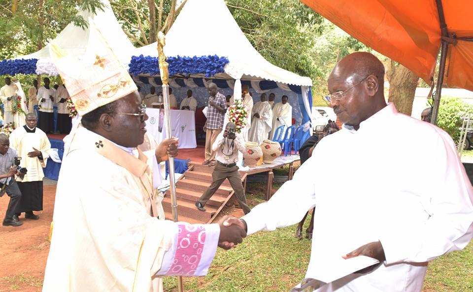 Arch Bishop Museveni