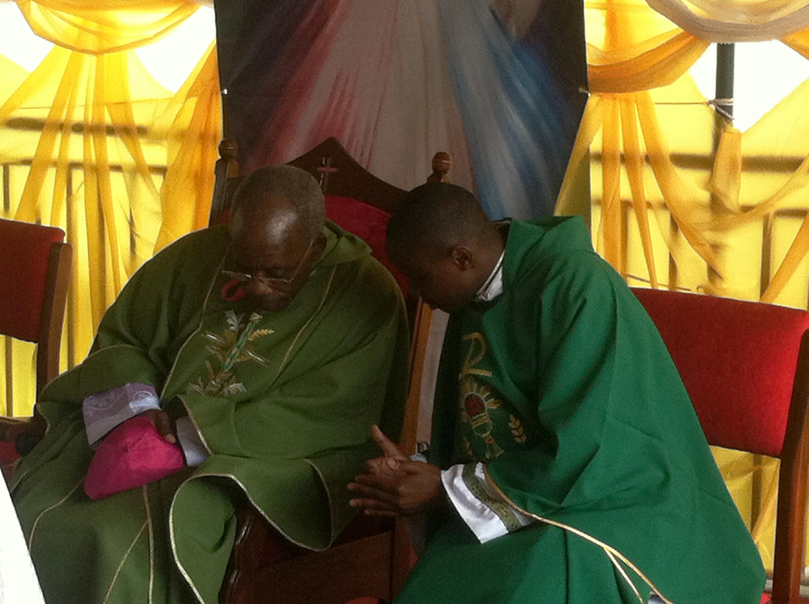 His Excellency Archbishop Kasujja leads mass-at-Kiwamirembe