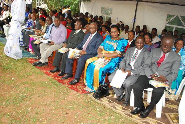 Invited Guests included Nantongo Ziwa and Amama Mbabazi Patrick
